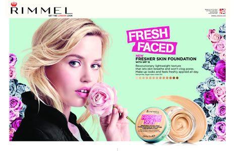Rimmel Fresher Skin puder