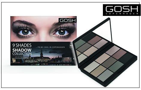 GOSH 9 Shades paleta sjenki