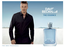 DAVID BECKHAM THE ESSENCE