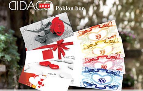 Obradujte svoje najdraže poklon bonom Didaco Shopa