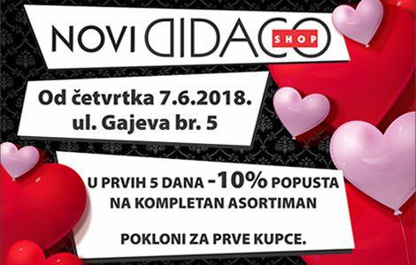 Otvaranje novog Didaco Shop-a u Banja Luci – ul. Gajeva br.5!