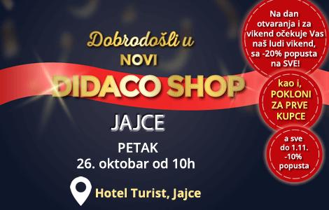 Otvaranje novog Didaco Shop-a u Jajcu