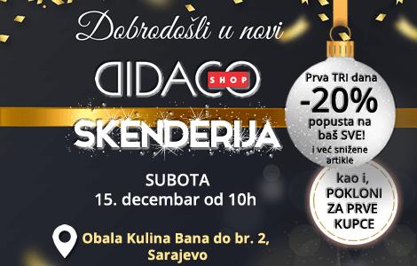 Otvaranje novog Didaco Shop-a u Sarajevu!