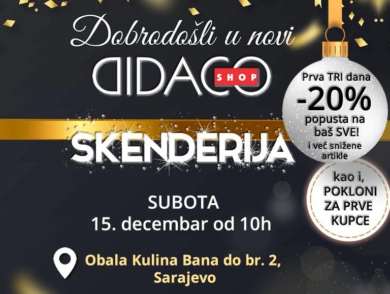 didaco shop Skenderija