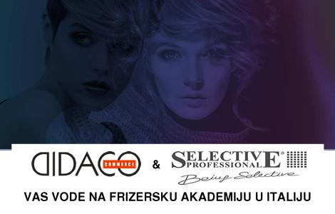 Didaco Commerce i Selective Vas vode na frizersku akademiju u Italiju