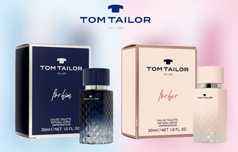 NOVO u Didaco Shop-u mirisi Tom Tailor for her& for him