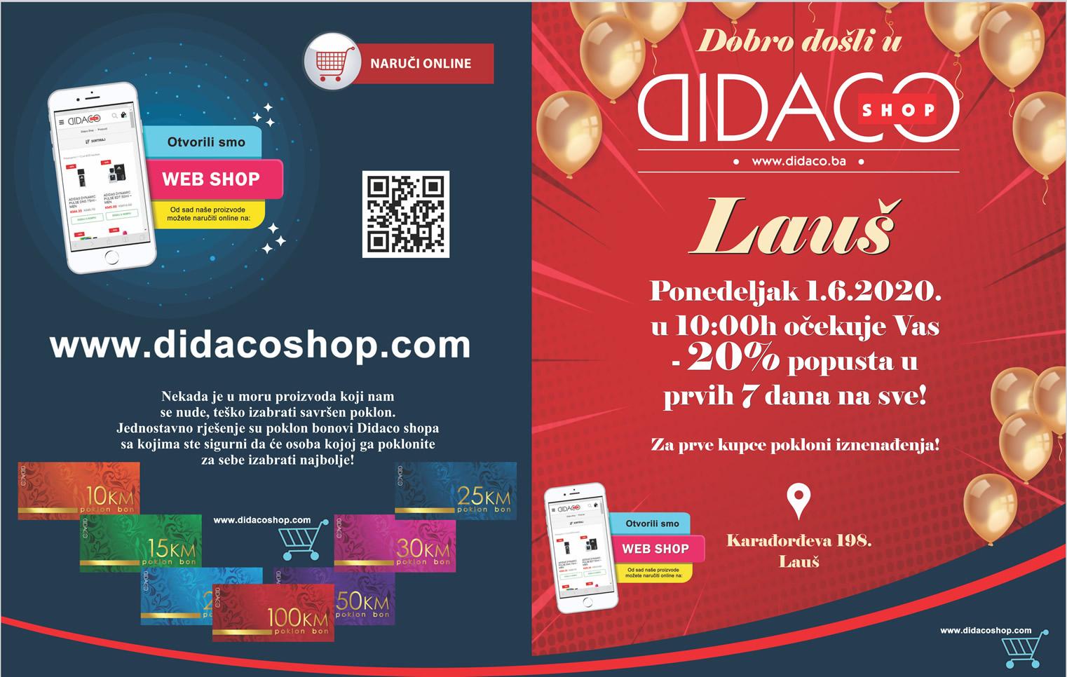 DIDACO SHOP Laus Banja Luka