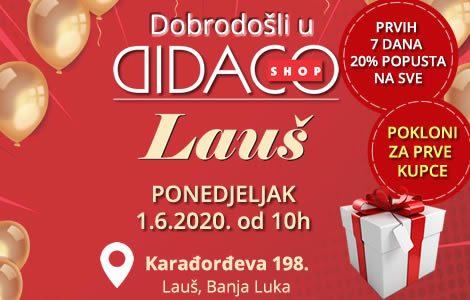 Otvaranje novog Didaco Shop-a u Banja Luci – ul. Karađorđeva 198.!