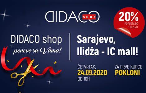 Didaco Shop PONOVO SA VAMA na ILIDŽI