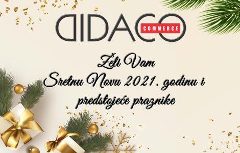 Srećna Nova 2021 godina i predstojeći praznici!