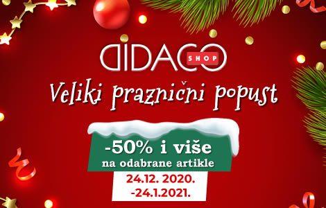 DIDACO SHOP Veliki praznični popust!