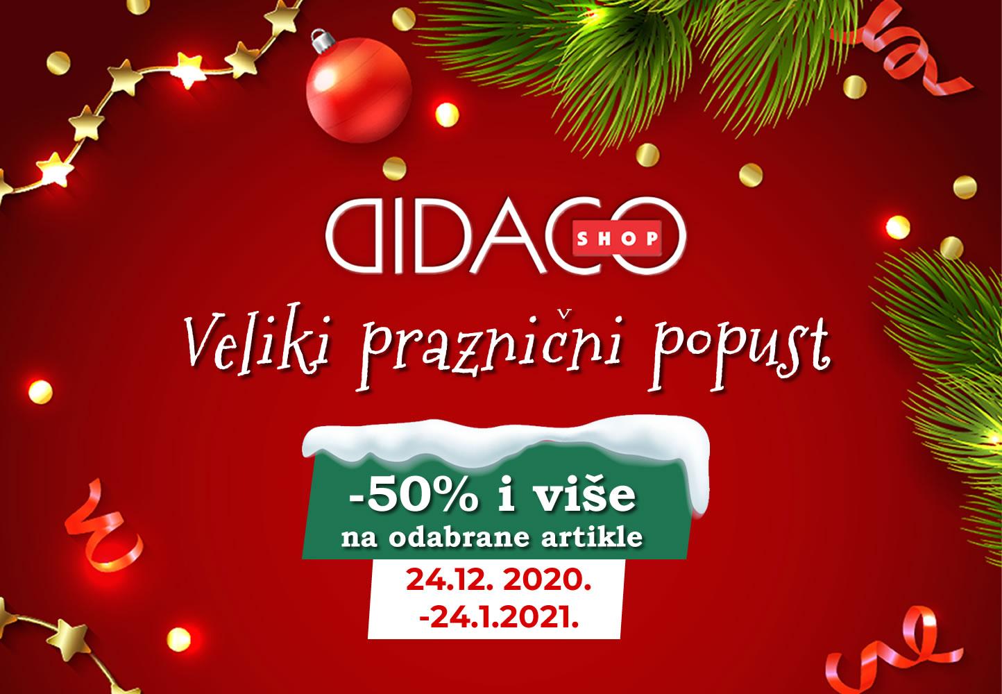 Didaco Shop praznični popust